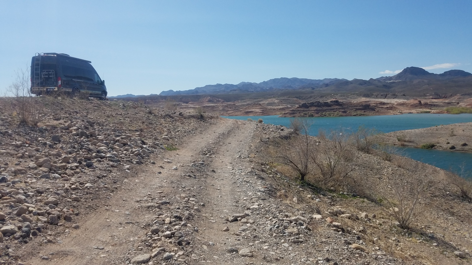 Boondocking Site Review - Government Wash, Lake Mead, NV